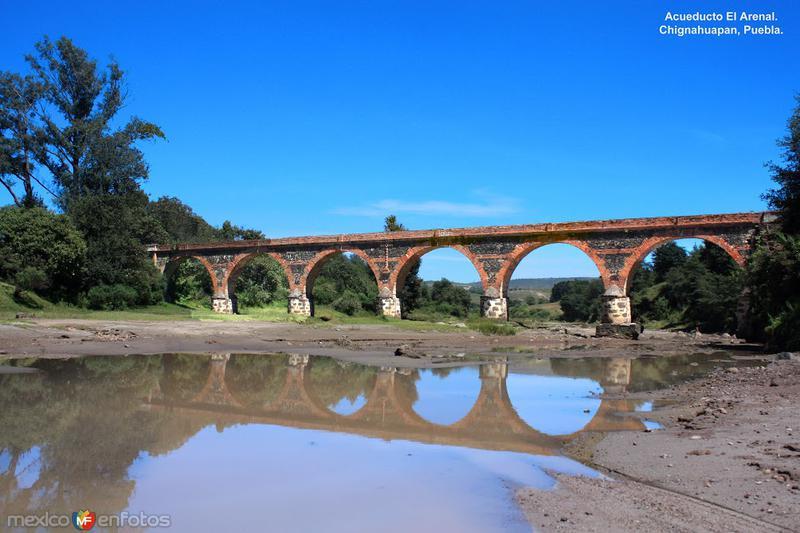 """Acueducto """"El Arenal"""", cerca de la comunidad de Acolihuía"""