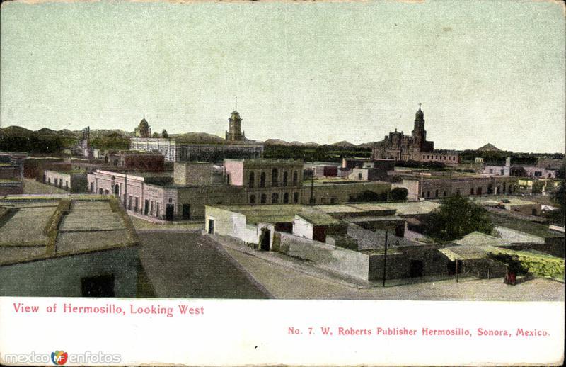 Vista al poniente de Hermosillo