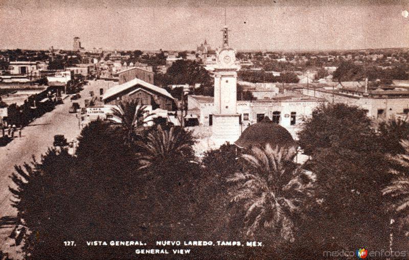 Vista panorámica de Nuevo Laredo