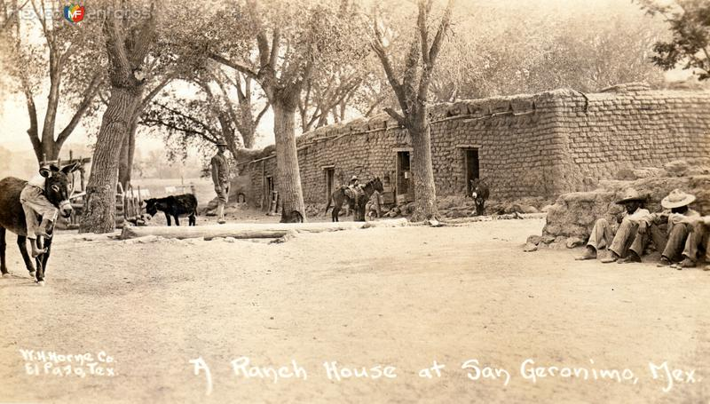 Casa en San Jerónimo, cerca de Ciudad Juárez