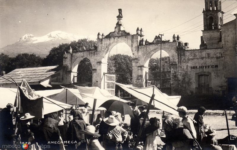 Vista de los arcos