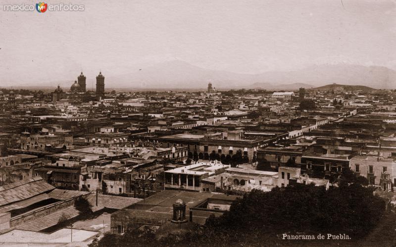 Vista panorámica de Puebla