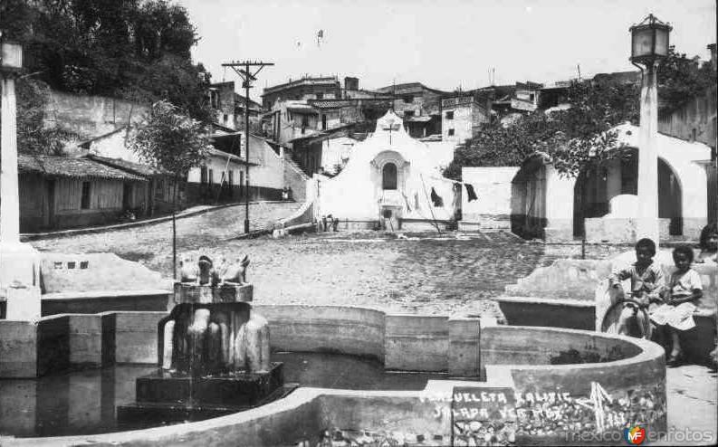 Barrio típico de Xalitic.