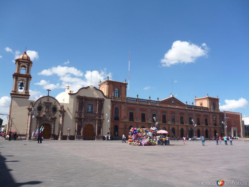 Plaza de los fundadores.