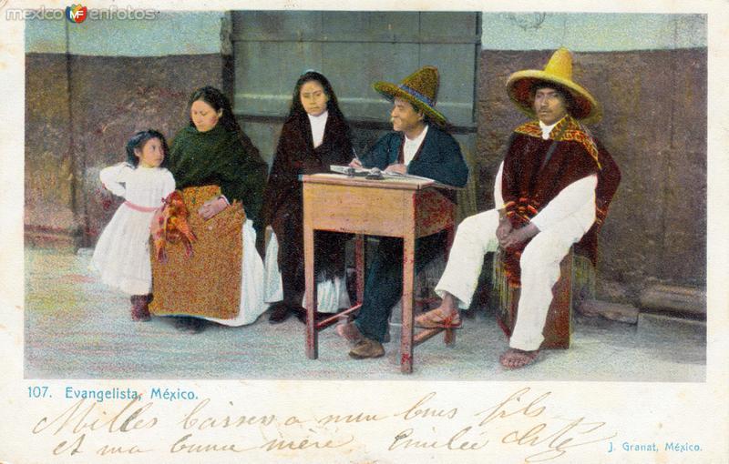 Escritor público de cartas