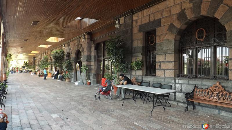 Antigüa estación de ferrocarril. Querétaro. Abril/2014