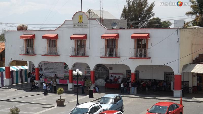Palacio Municipal de Santo Toribio Xicohtzinco. Abril/2014
