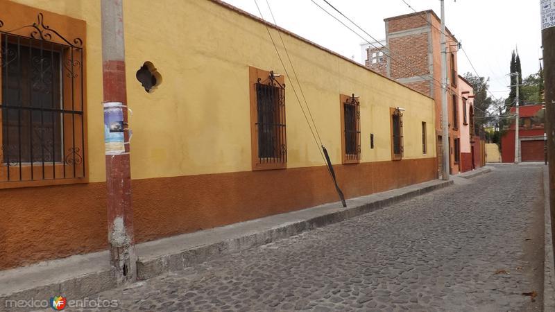 Calles de San Miguel de Allende. Abril/2014