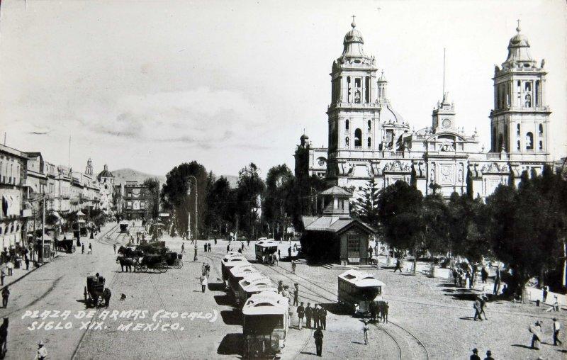 Plaza de Armas 1900