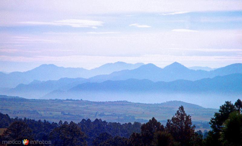 NATURALEZA: Vista de la serranía