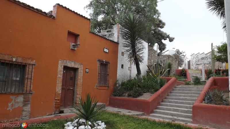 Un bello rincón del Pueblo Mágico de Pozos. Abril/2014