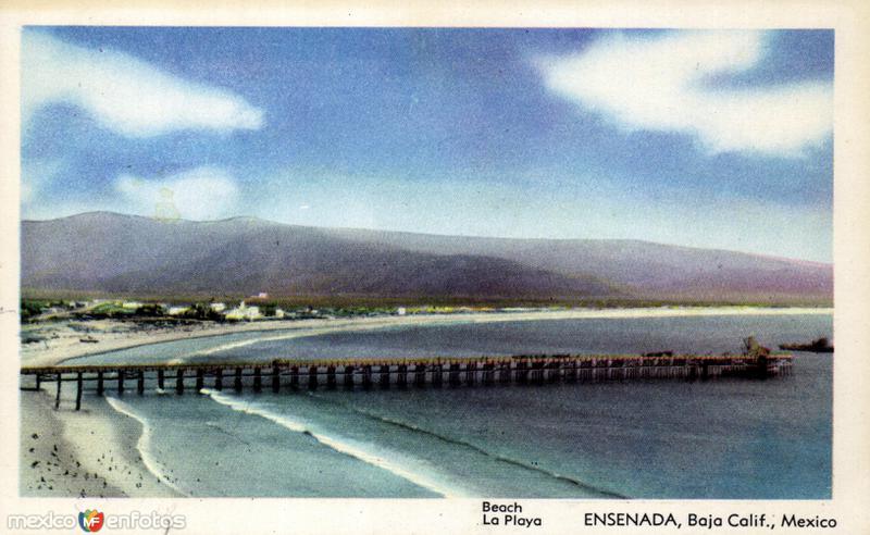 Muelle y playa