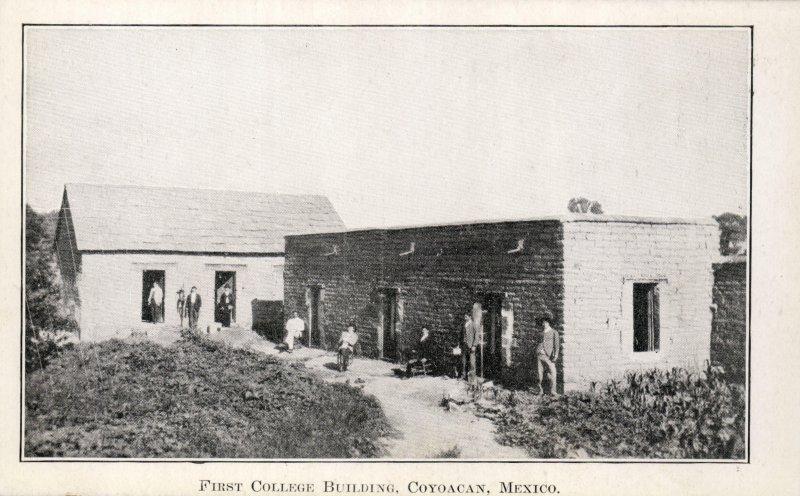 El primer collegio en Coyoacán