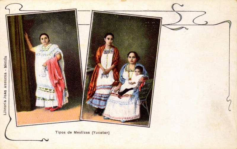 Mestizas de Yucatán