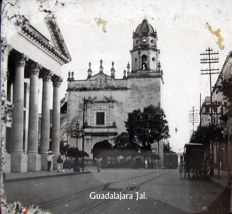 Teatro Degollado 1909