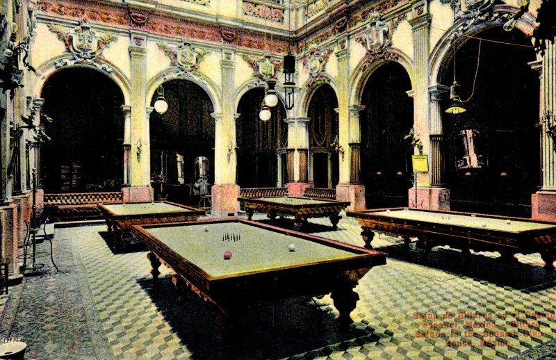 Salón de billares del Casino Español
