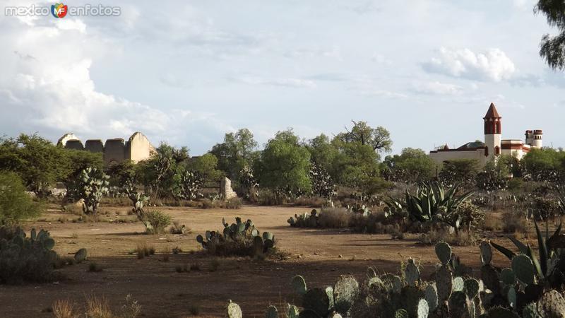 Mina de Santa Brígida en los alrededores de Pozos. Abril/2014
