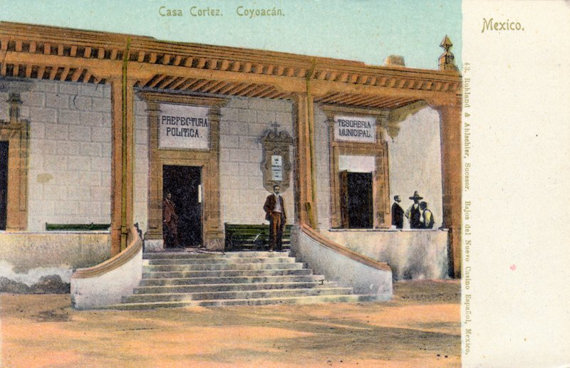 Casa de Hernán Cortez en Coyoacán