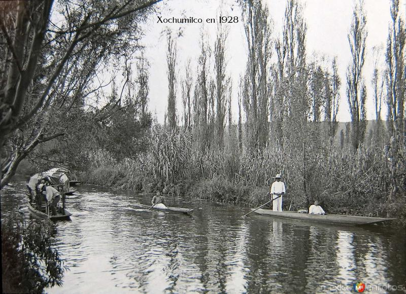 Xochimilco en 1928