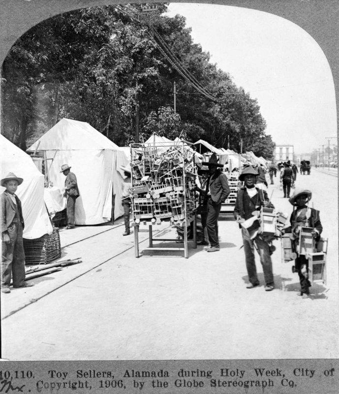 Vendedores de Juguetes de madera 1909