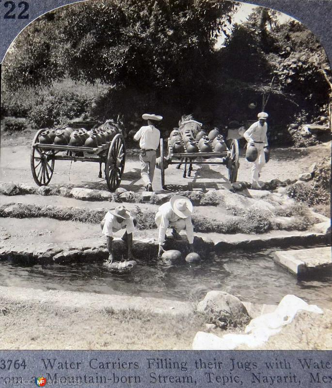 Cargadores de Agua 1930