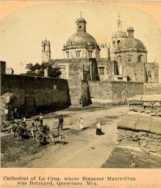 Templo de la Cruz Hacia 1900