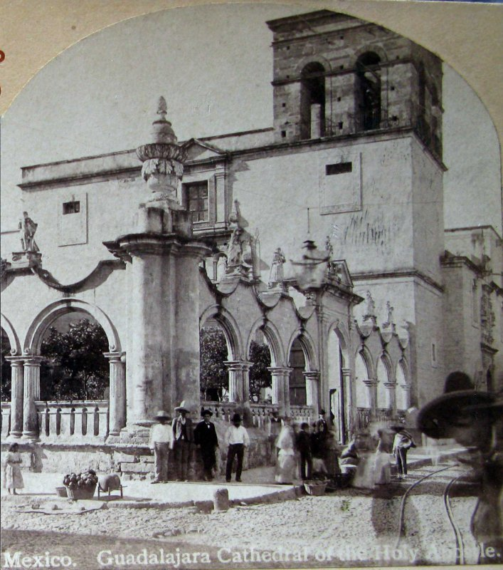 Iglesia del Santo Apostol Hacia 1900