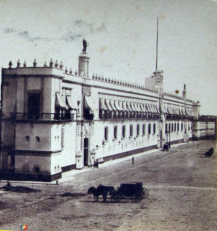 Palacio Nacional Hacia 1900