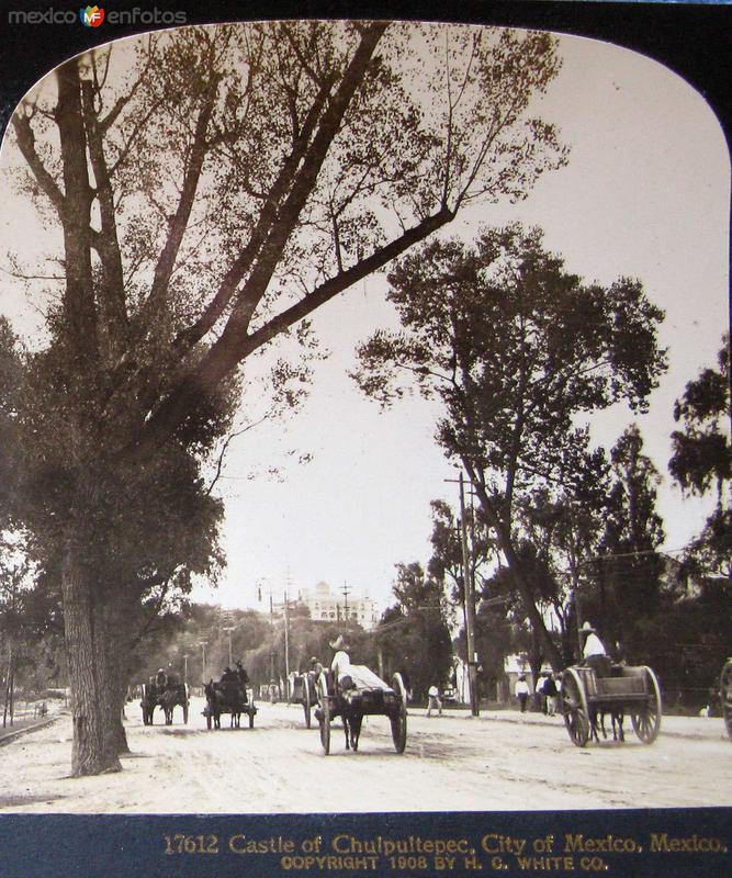 Paseo de la Reforma Hacia 1900