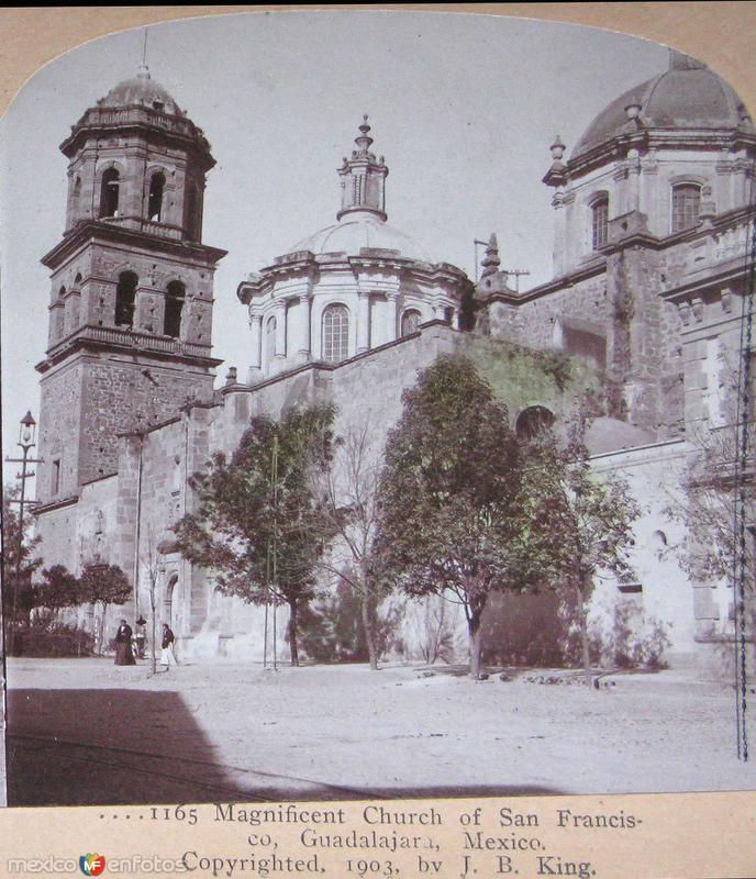 Iglesia de San francisco Hacia 1900