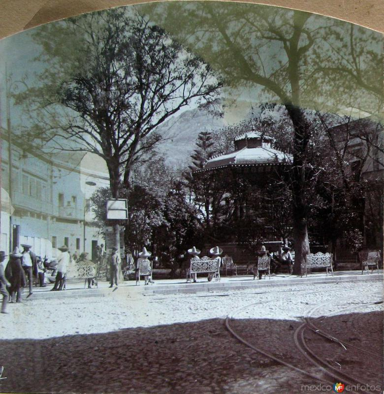 Jardín de la Unión (circa 1900)