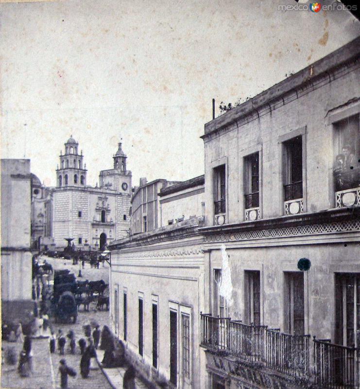 Iglesia de la Paz hacia 1900