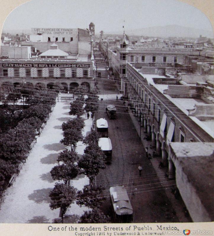 Una Calle Hacia 1900