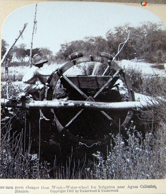 Metodo de viento para Regar Hacia 1900