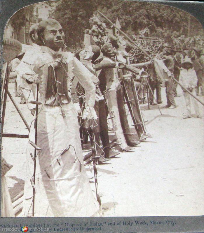 Venta de judas Hacia 1900