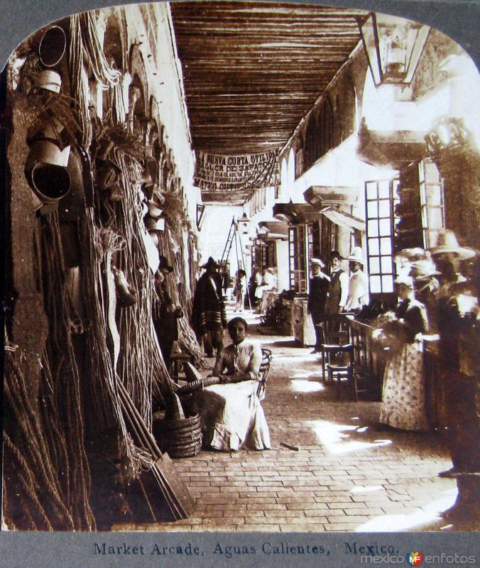 Mercado Arcadia Hacia 1900