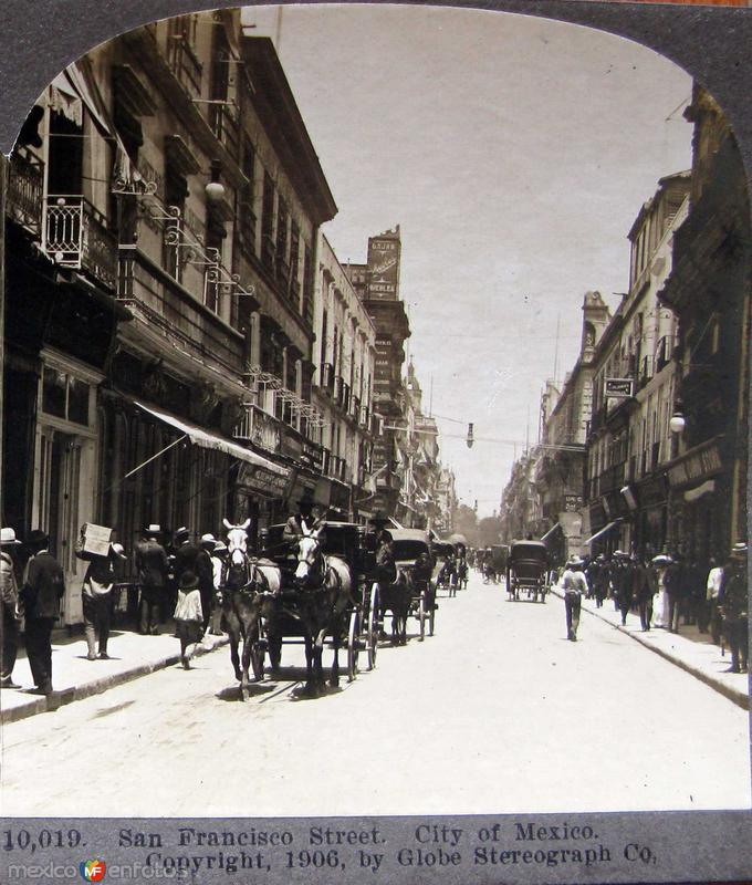 Calle de San Francisco Hacia 1909
