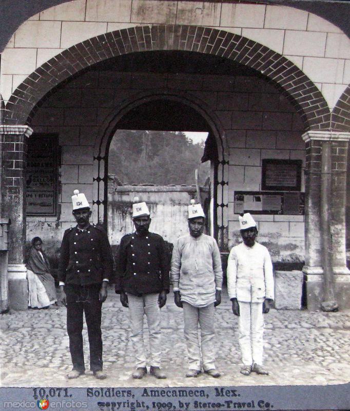 Soldados Amequenses Hacia 1909