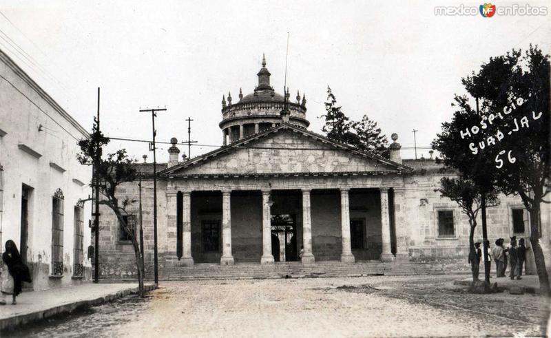 Teatro Degollado hacia 1945