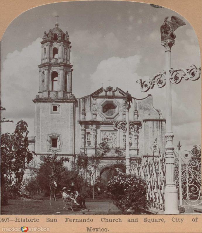 Iglesia de San Fernando Hacia 1900