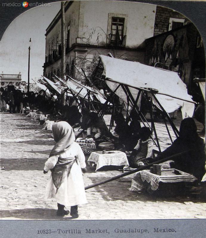 Mercado de Gorditas Hacia 1900