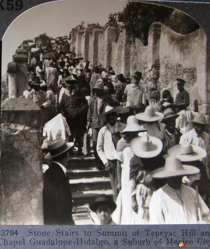Escalinata de la La Villa Hacia 1900