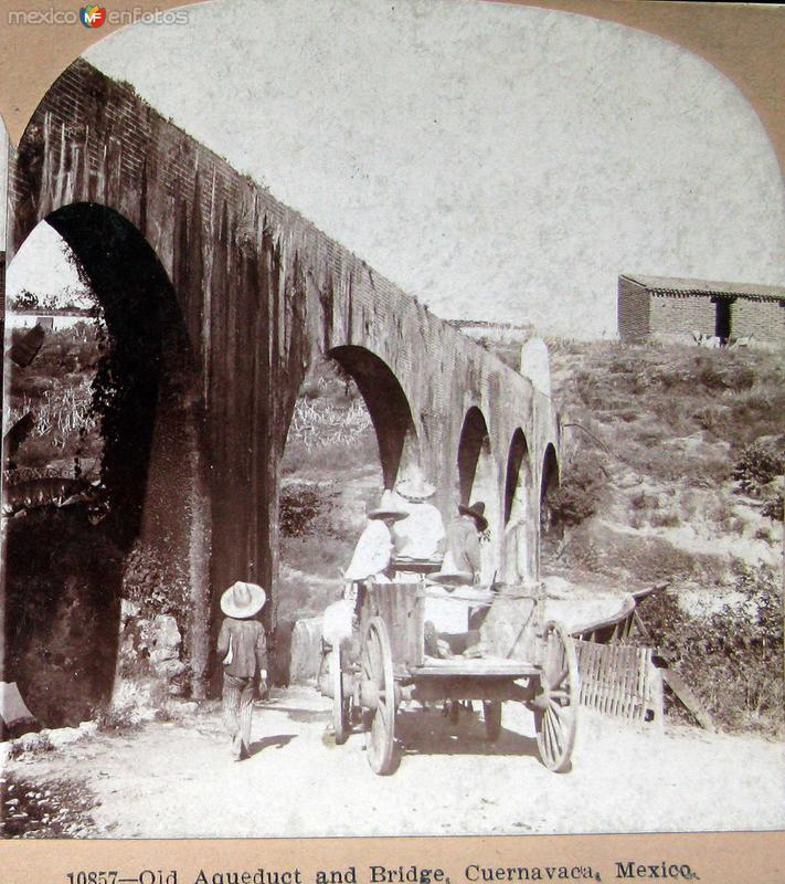 Acueducto Hacia 1900