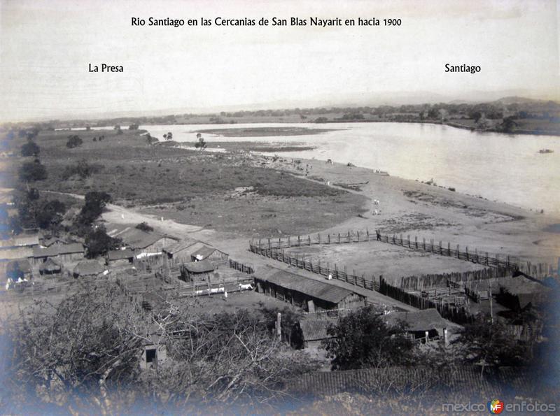 Rio Santiago desembocando