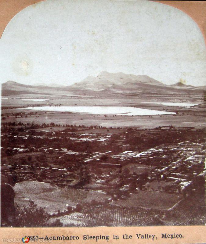Valle dormido Hacia 1900