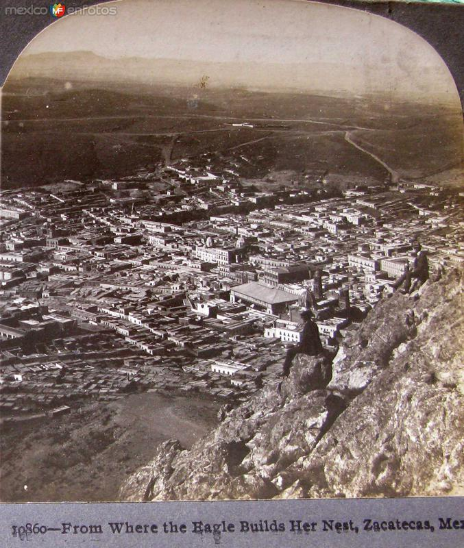 Desde donde las Aguilas hacen su nido Hacia 1900