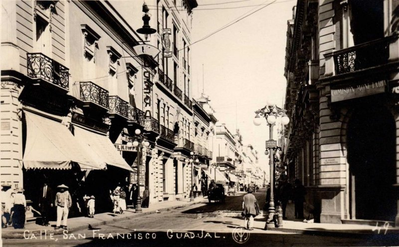 Calle de San Francisco Hacia 1920