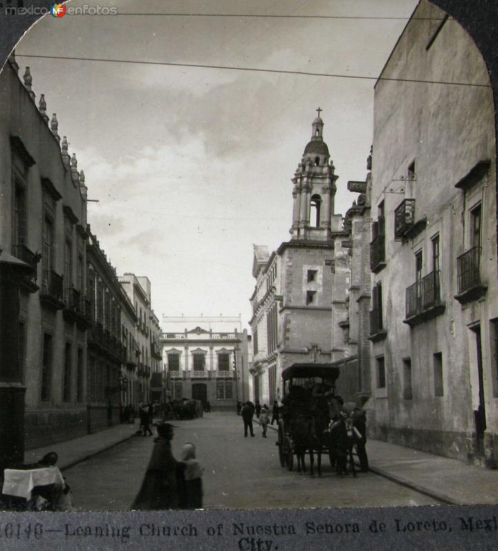 Iglesia de Loreto Hacia 1900