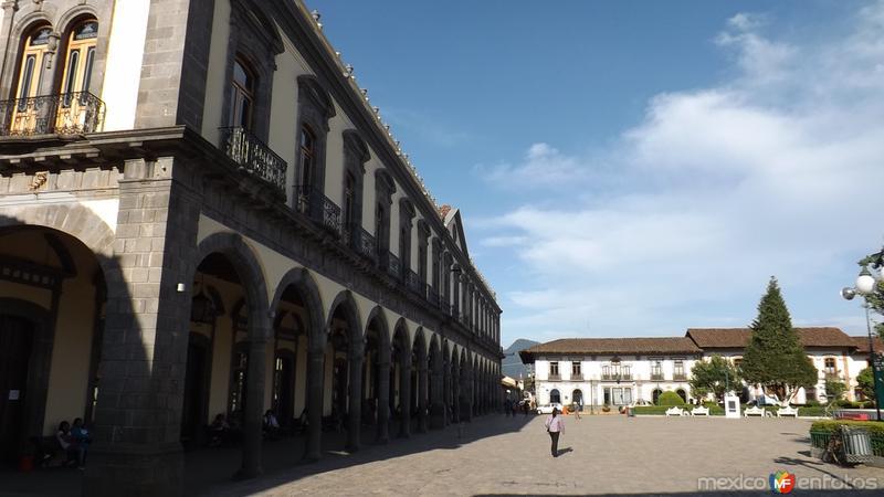 Portales del Palacio Municipal. Mayo/2014
