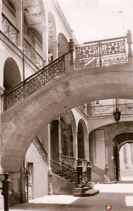 Interior del Palacio Federal